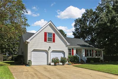 Chesapeake Single Family Home New Listing: 3608 Calverton Ct
