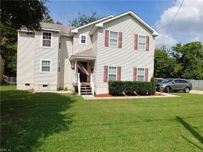 Norfolk Single Family Home New Listing: 3571 Chesapeake Blvd