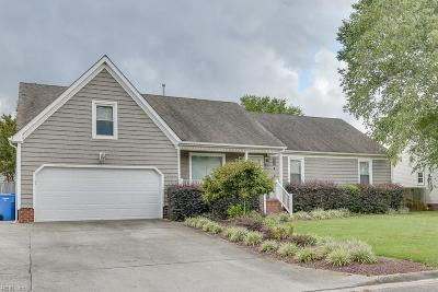 Chesapeake Single Family Home New Listing: 132 Downing Dr
