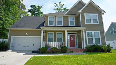 Chesapeake Single Family Home New Listing: 4701 Brians Way