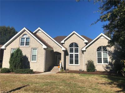 Chesapeake Single Family Home For Sale: 406 Granada Dr