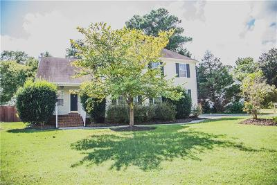 Chesapeake Single Family Home New Listing: 2801 Bar Harbor Ct