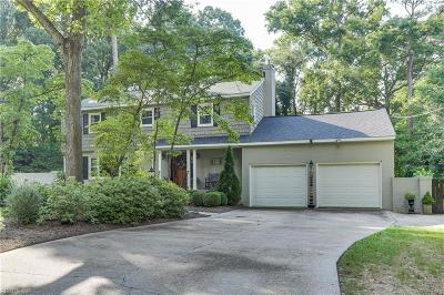 Newport News Single Family Home Under Contract: 201 Tipton Rd