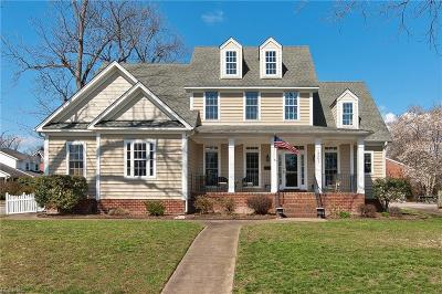 Hampton Single Family Home For Sale: 1501 Chesapeake Ave