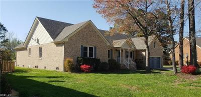 Chesapeake Single Family Home Under Contract: 1121 Cumberland Ct
