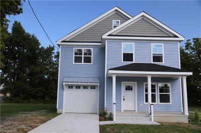 Norfolk Single Family Home New Listing: 7534 Hughart St