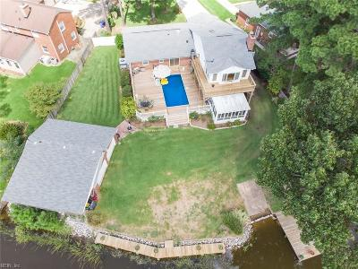 Norfolk Single Family Home New Listing: 5971 McGinnis Cir