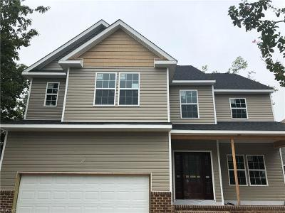 Norfolk Single Family Home New Listing: 2617 Ruffin Way