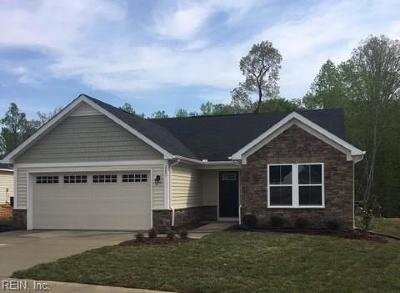 Williamsburg Single Family Home Under Contract: 202 Peppergrass Ln