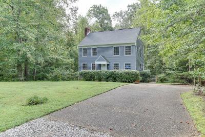 Williamsburg Single Family Home New Listing: 118 Chapel Hill Ln