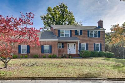 Newport News Single Family Home New Listing: 18 W Governor Dr