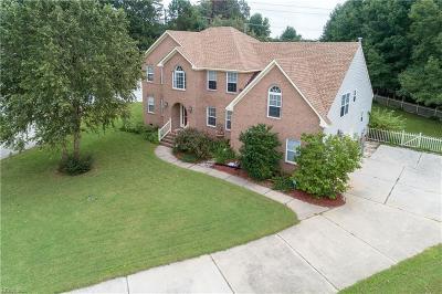 Chesapeake Single Family Home New Listing: 1200 Becca Anne Ct