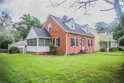 Hampton Single Family Home New Listing: 132 Chesterfield Rd