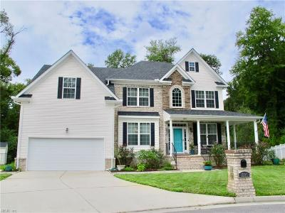 Chesapeake Single Family Home New Listing: 1200 Bonnie View Arch