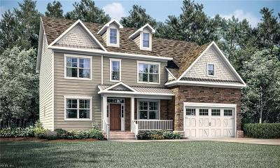 Chesapeake Single Family Home New Listing: Mm McBryde At St Brides Rd W