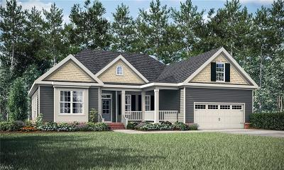 Chesapeake Single Family Home New Listing: Mm Henderson At St Brides Rd W