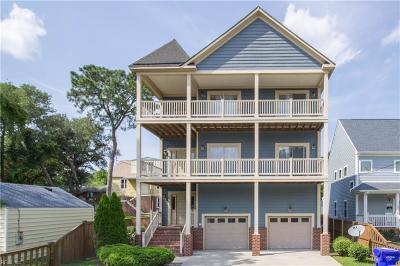 Norfolk Single Family Home New Listing: 3110 Pretty Lake Ave