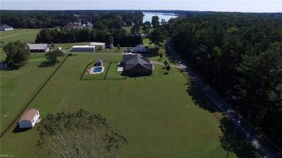 Suffolk Single Family Home New Listing: 4476 Cherokee Dr