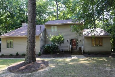 Williamsburg Single Family Home New Listing: 237 Tutters Neck