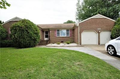 Hampton Single Family Home New Listing: 322 Lakeland Dr