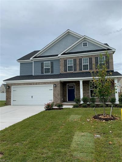 Chesapeake Single Family Home Under Contract: 3533 Kathys Way