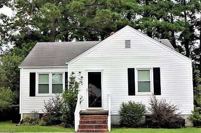 Chesapeake Single Family Home New Listing: 1414 Myrtle Ave