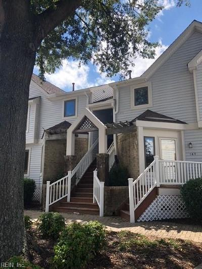 Chesapeake Single Family Home New Listing: 177 Harbor Watch Dr