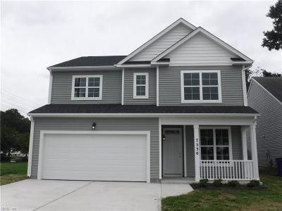 Norfolk Single Family Home New Listing: 7530 Merritt St