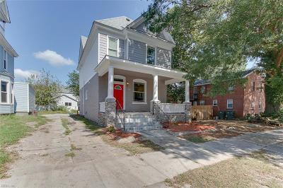 Norfolk VA Single Family Home New Listing: $229,900