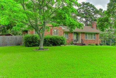 Chesapeake Single Family Home New Listing: 3932 North Rd