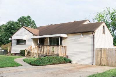Chesapeake Single Family Home New Listing: 3121 Hornsea Rd