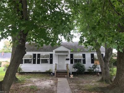 Hampton Single Family Home New Listing: 416 Alleghany Rd