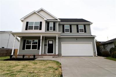 Norfolk Single Family Home New Listing: 7032 Gregory Dr