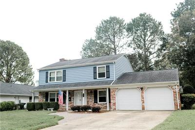 Hampton Single Family Home New Listing: 334 Weyanoke Ct