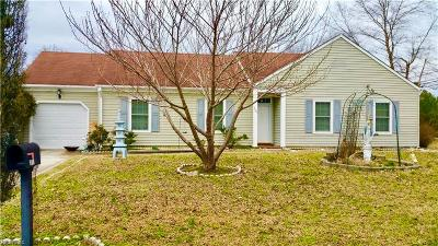 Chesapeake Single Family Home New Listing: 300 Creekwood Dr