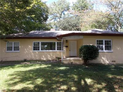 Norfolk Single Family Home New Listing: 1150 Eagle Ave