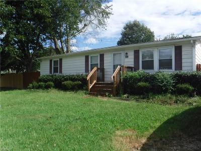 Chesapeake Single Family Home New Listing: 152 Kempsville Rd