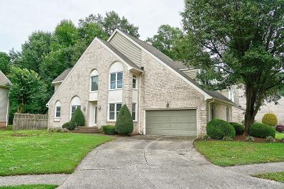 Chesapeake Single Family Home New Listing: 900 Shoal Creek Trl