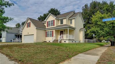 Norfolk VA Single Family Home New Listing: $274,900