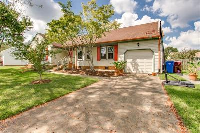 Chesapeake Single Family Home New Listing: 429 Spurlane Cir