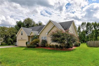 Chesapeake Single Family Home New Listing: 459 Hanbury Rd W