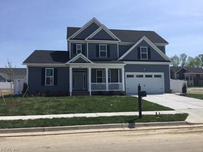 Chesapeake Single Family Home Under Contract: 1801 Carrera Rdg