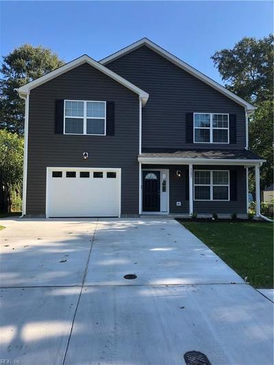 Chesapeake Single Family Home New Listing: 2607 Cayce Dr