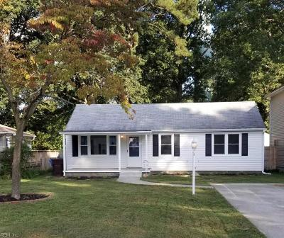 Chesapeake Single Family Home New Listing: 1210 Elder Ave