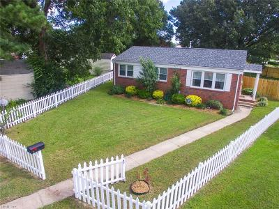 Chesapeake Single Family Home New Listing: 2914 Rotan Ct