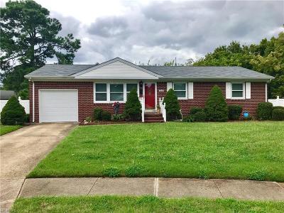 Norfolk Single Family Home New Listing: 3209 Blackwood Ave