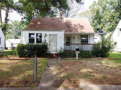 Portsmouth Single Family Home New Listing: 3510 Commonwealth Ave