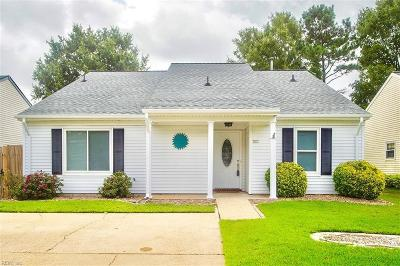 Virginia Beach VA Single Family Home New Listing: $269,900