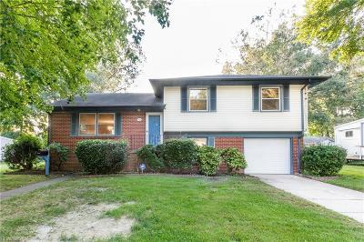 Hampton Single Family Home New Listing: 821 Arlington Ter