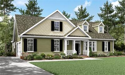 Chesapeake Single Family Home New Listing: Mm Kentland At St Brides Rd W